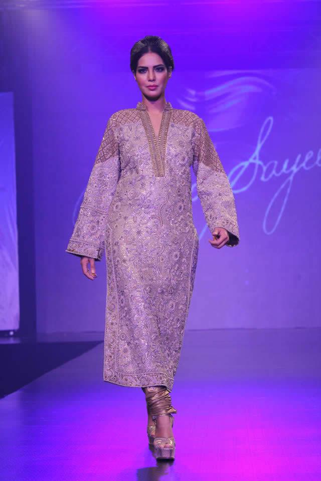 Umar Sayeed Collection Shaan-e-Pakistan Fashion Show 2015 Pics