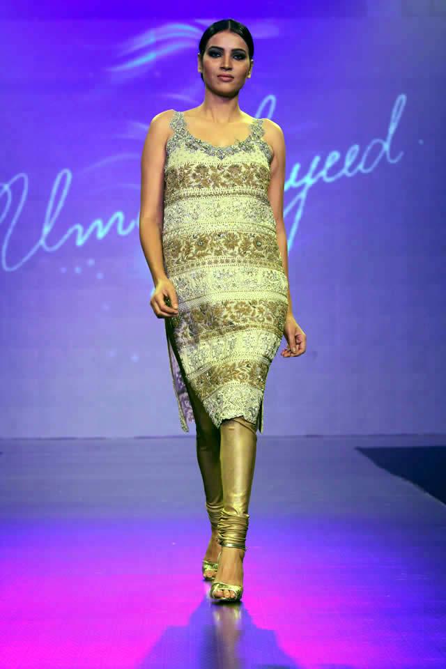 Umar Sayeed Dresses Shaan-e-Pakistan Fashion Show 2015 Images
