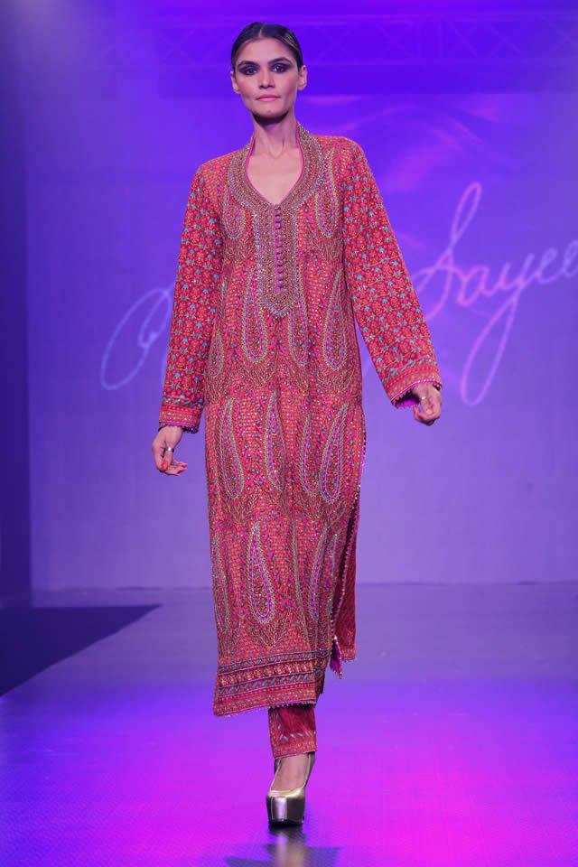 2015 Shaan-e-Pakistan Fashion Show Umar Sayeed Dresses Gallery