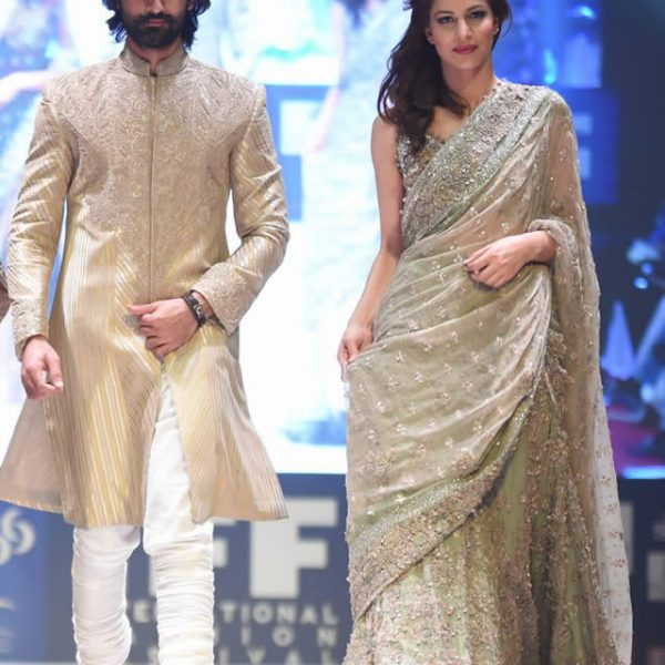 Umar Sayeed Bridal Collection at IFF