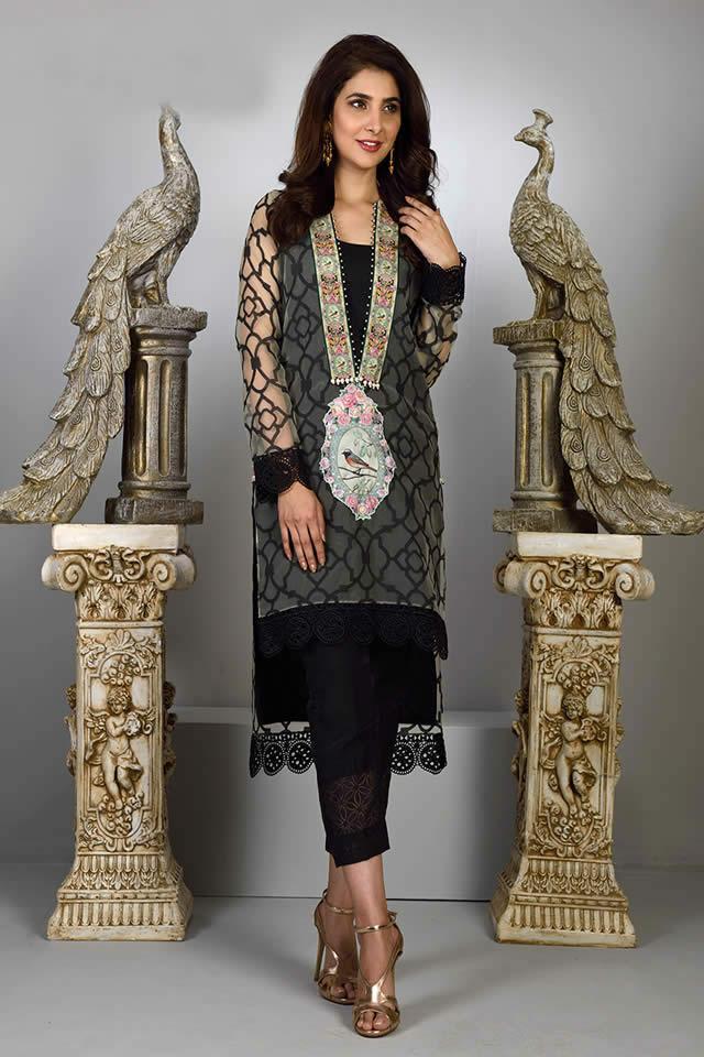 Wardha Saleem Eid Dresses collection 2016 Pics