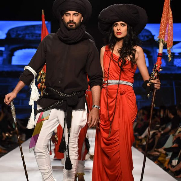 YBQ Summer collection at Telenor Fashion Pakistan Week 2015