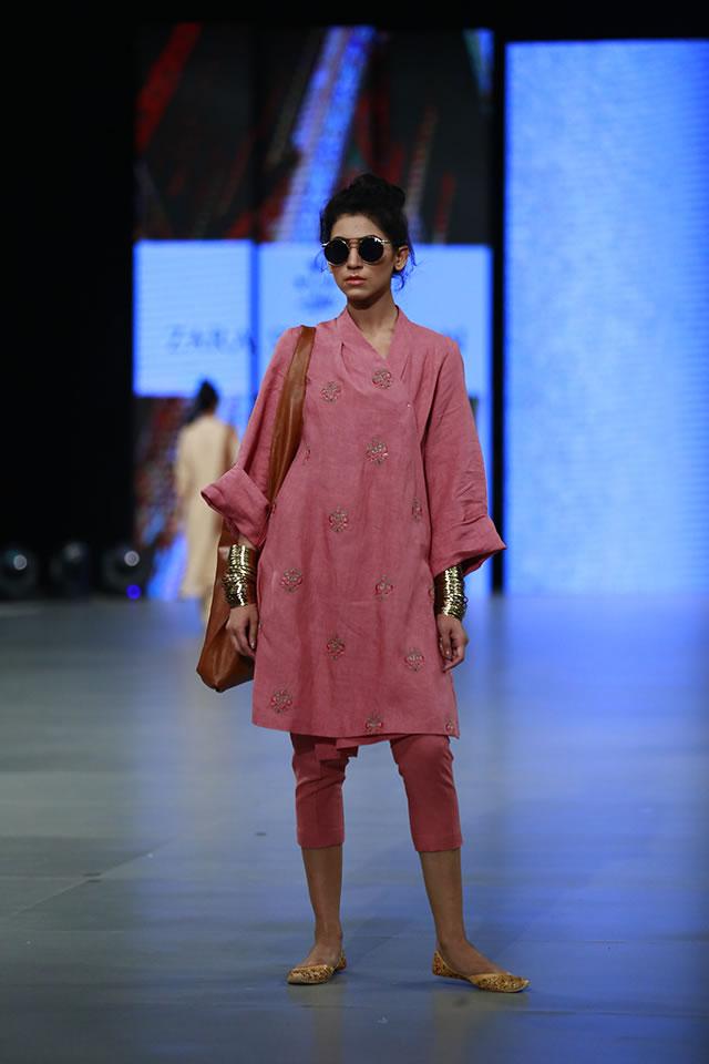 Zara Shahjahan Dresses PFDC Sunsilk Fashion Week 2016 Images