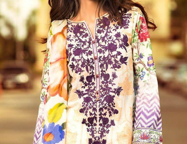 Zara Shahjahan Spring / Summer 2015 Lawn Collection