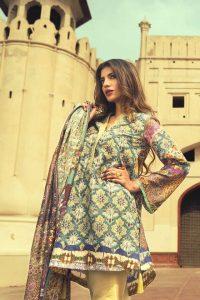 Zara Shahjahan Winter Silk Dresses Collection