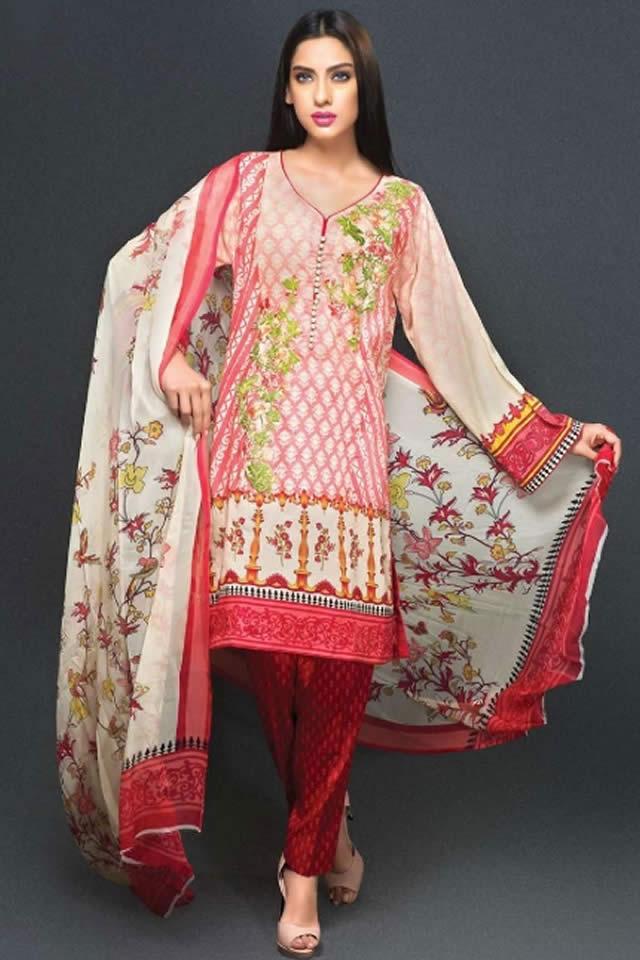2015 Zeniya Lawn 2015 Deepak Perwani Dresses