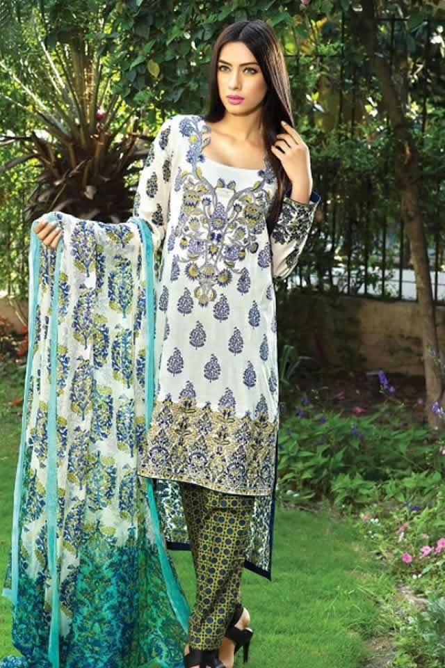 2015 Zeniya Lawn 2015 Deepak Perwani Dresses Images