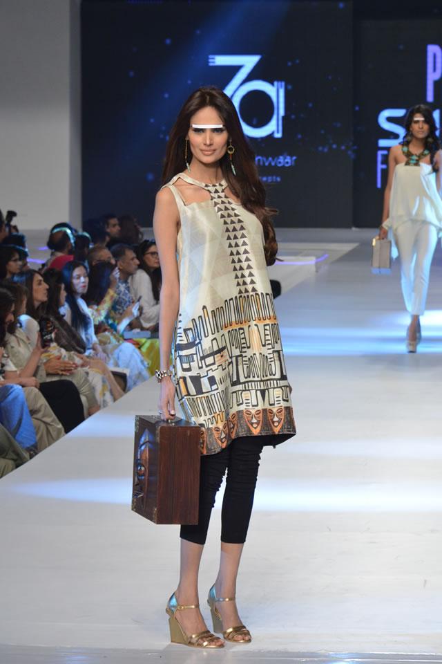 2015 PFDC Sunsilk Fashion Week Zonia Anwaar