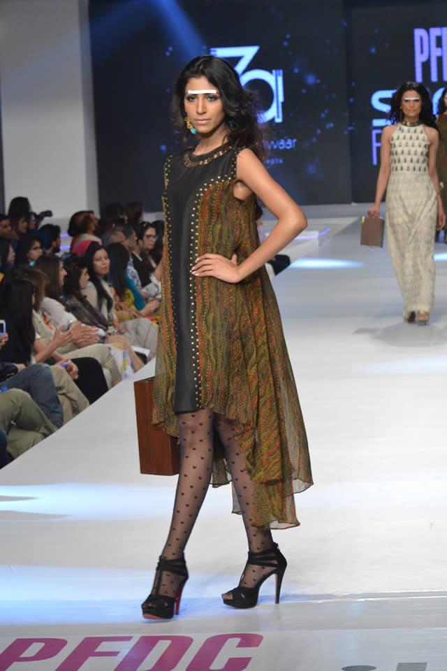 Zonia Anwaar PFDC Sunsilk Fashion Week collection 2015 Gallery