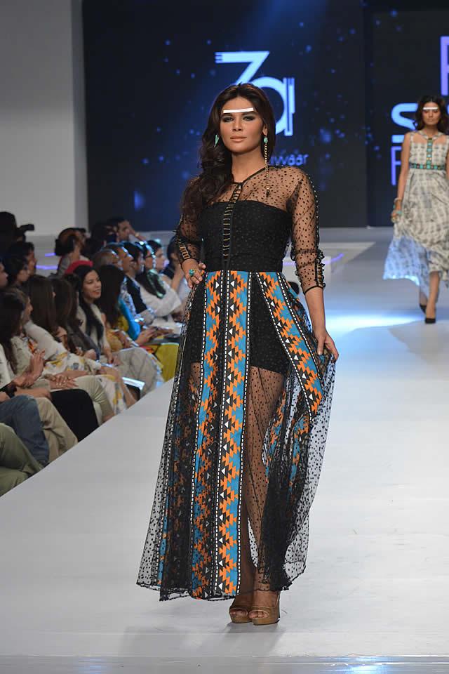 Zonia Anwaar Dresses collection 2015