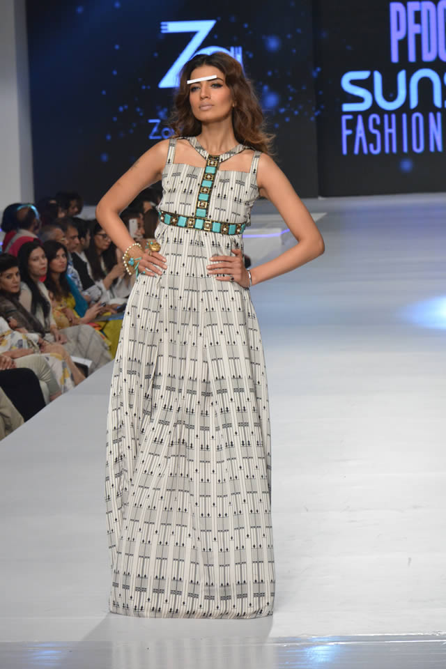 PFDC Sunsilk Fashion Week Zonia Anwaar Collection Photos