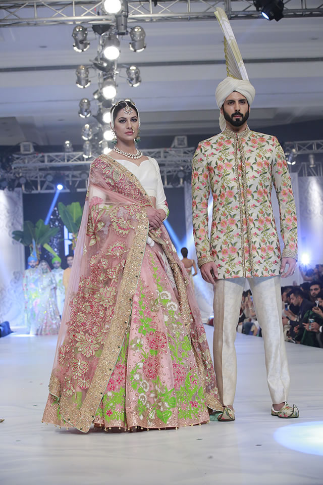 Fashion Designer Ali Xeeshan Collection Loreal Paris Bridal Week 2016 Gallery