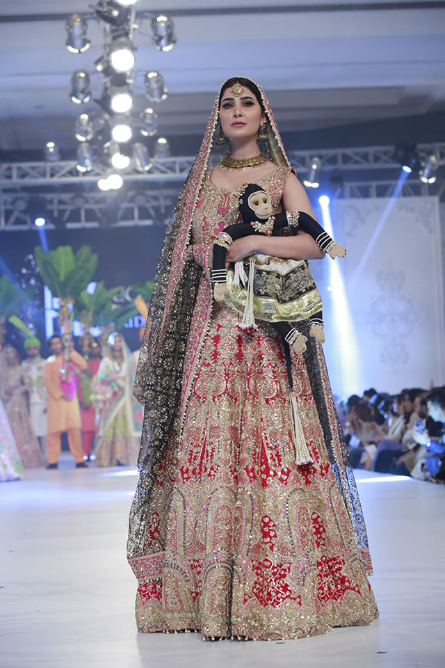 Loreal Paris Bridal Week 2016 Ali Xeeshan Formal Collection Pictures