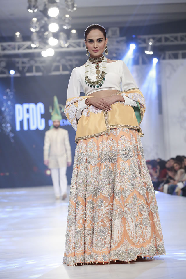Loreal Paris Bridal Week 2016 Ali Xeeshan Latest Collection Images