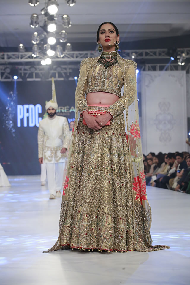 Loreal Paris Bridal Week 2016 Ali Xeeshan Dresses Collection Photo Gallery