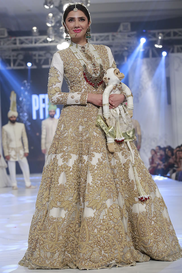2016 Loreal Paris Bridal Week Ali Xeeshan Formal Collection Pictures