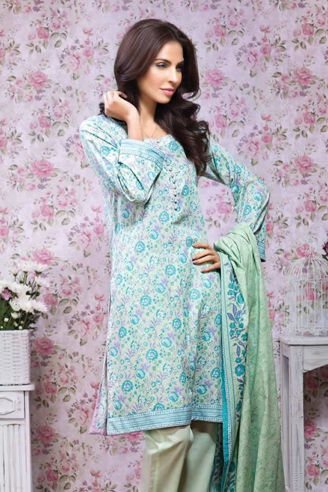 Alkaram Mid Summer Dresses collection 2016 Images