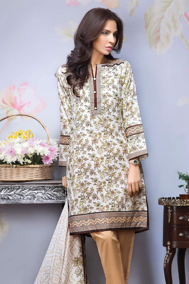 Alkaram Mid Summer Dresses collection 2016 Pictures