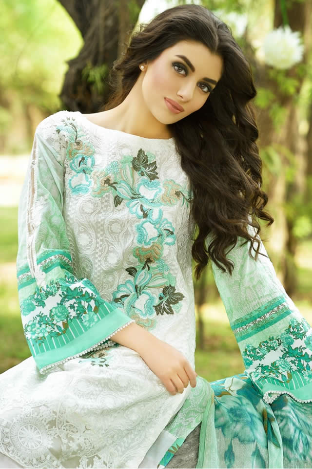 Firdous Summer Lawn Dresses collection 2016 Images