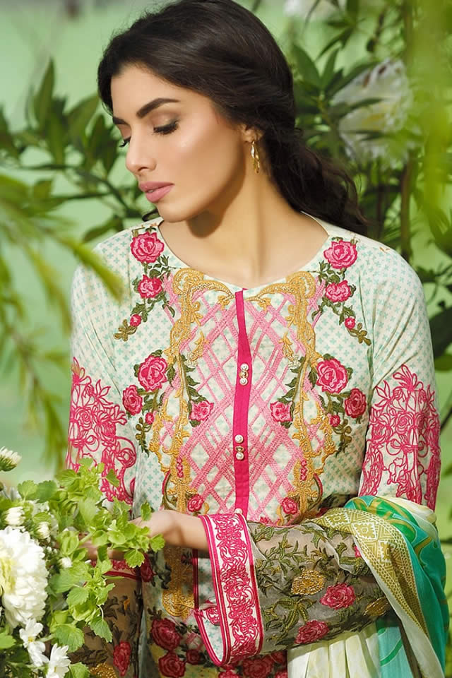 Firdous Summer Lawn collection 2016 Pictures