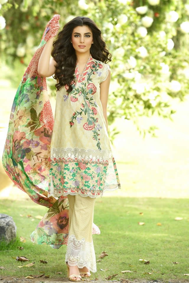Firdous Summer Lawn collection 2016 Gallery
