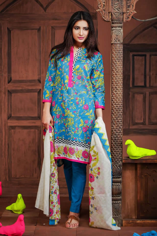 2016 khaadi Summer Lawn collection Pictures