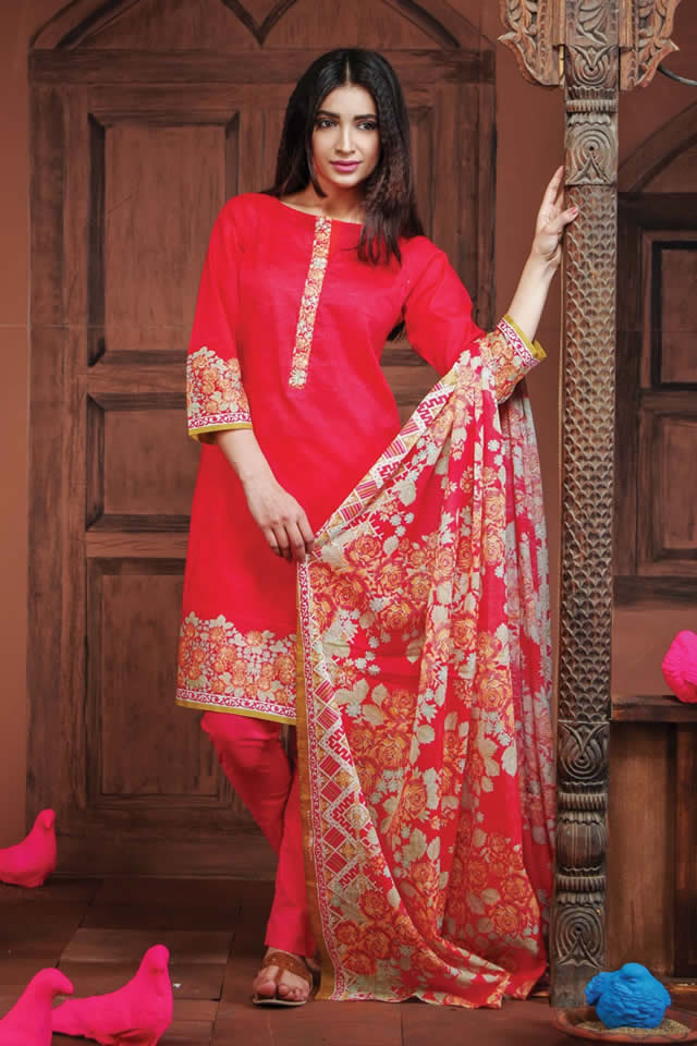 2016 khaadi Summer Lawn collection Images