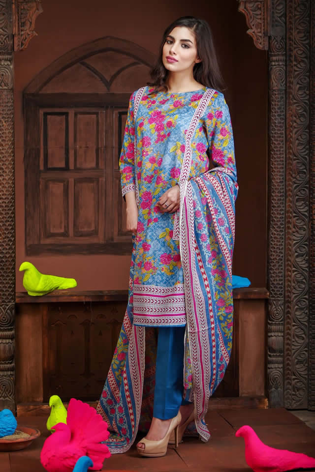 2016 khaadi Summer Lawn Dresses collection Images