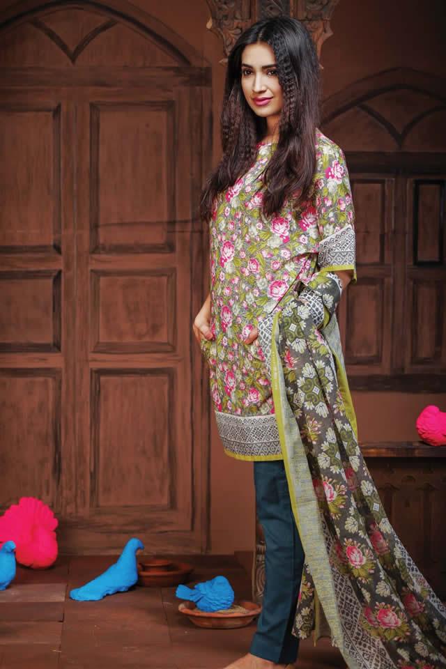 Fashion Brand khaadi Summer Lawn collection 2016 Pics