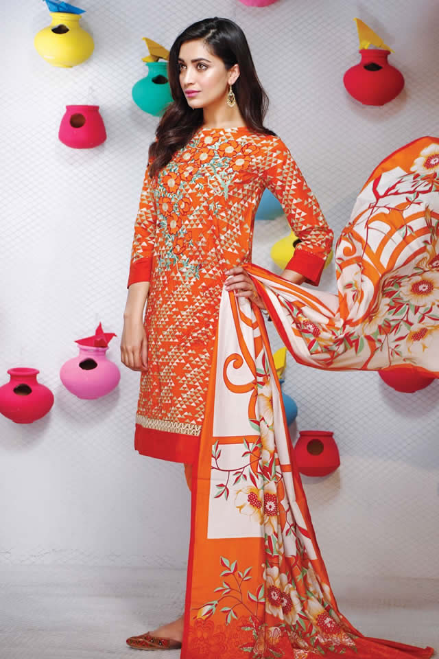 Fashion Brand khaadi Summer Lawn collection 2016 Pictures