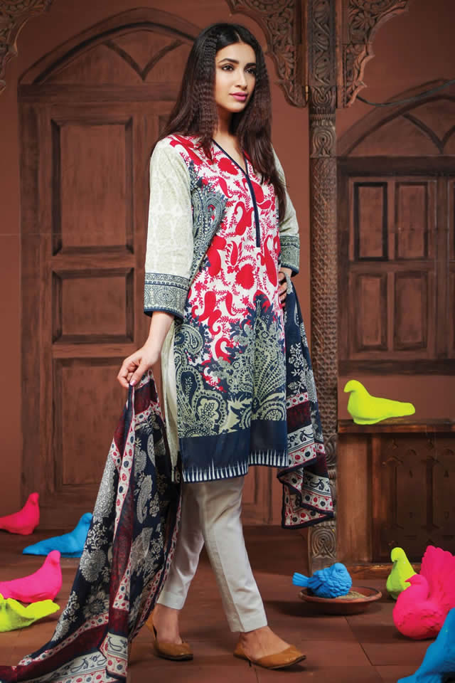 khaadi Summer Lawn collection 2016 Pictures