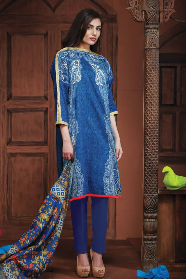 khaadi Summer Lawn collection 2016 Images
