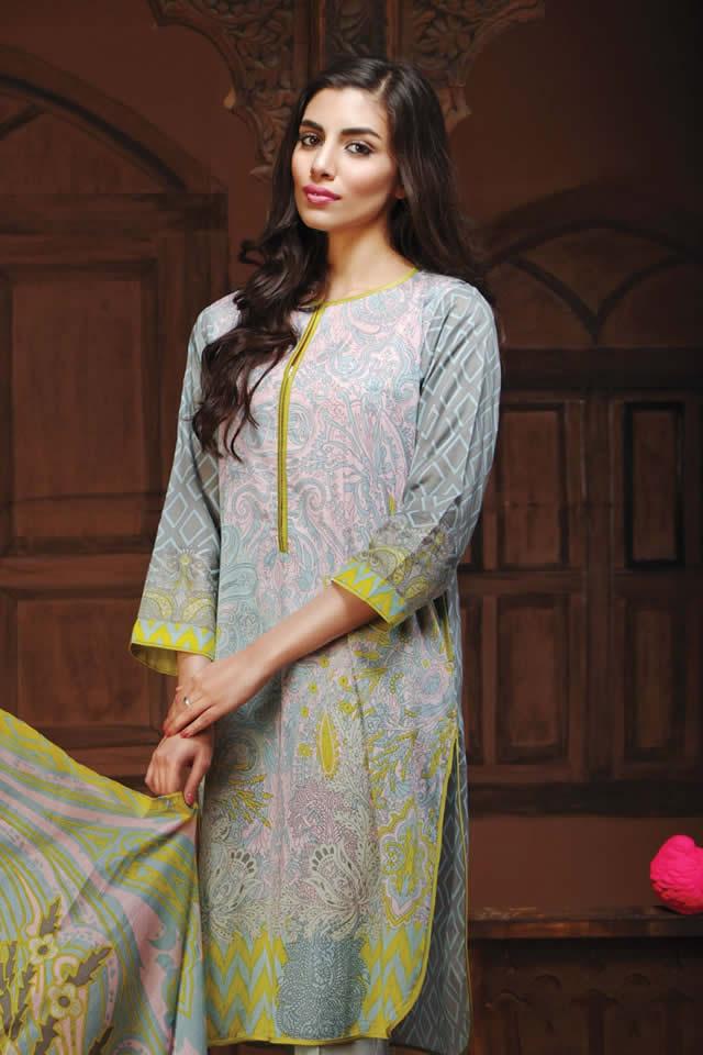 khaadi Summer Lawn Dresses collection 2016 Pics