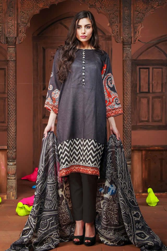 khaadi Summer Lawn Dresses collection 2016 Pictures