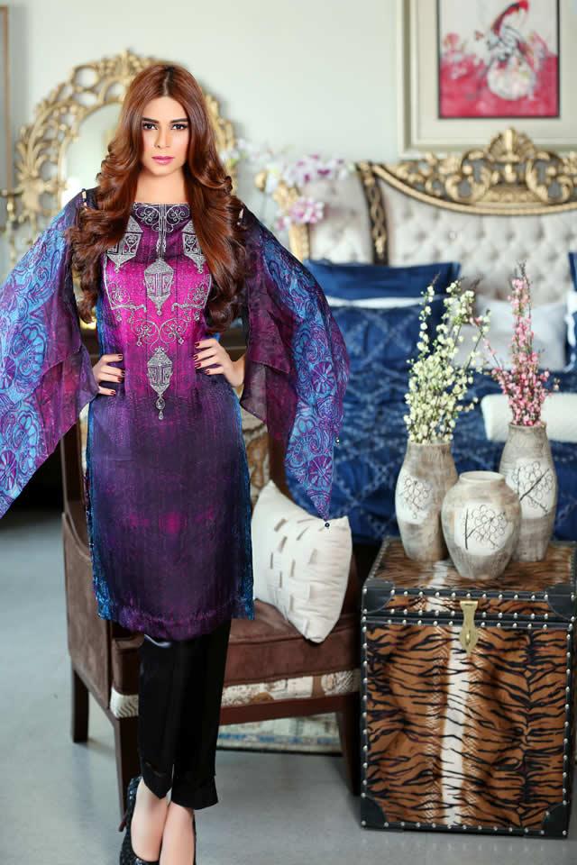 Khas Shamoz Silk Collection 2015