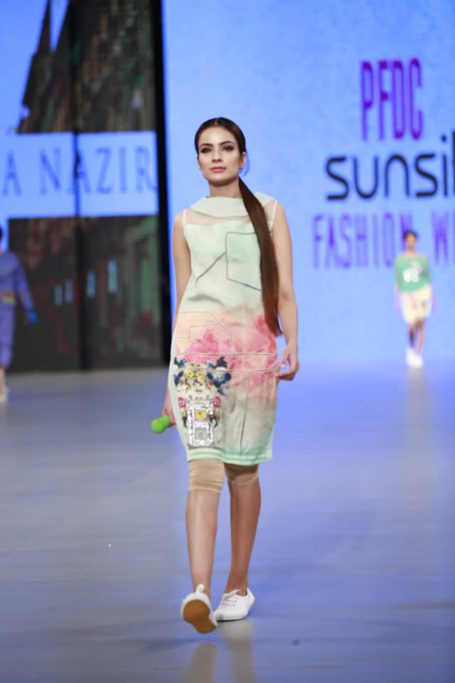 2016 PSFW Sobia Nazir Dresses Collection Photos