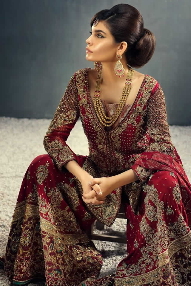 Teena by Hina Butt latest bridal collection 2015
