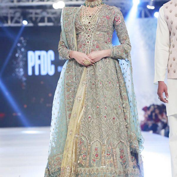 Zara Shahjahan Latest Bridal Dresses at PLBW16