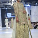 Designer Zara Shahjahan Collection Loreal Paris Bridal Week 2016 Pics