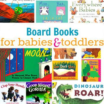 Build Your Library! 25 Board Books Every Baby Needs