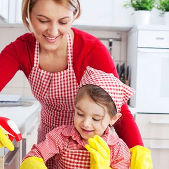 A Guide to Kitchen Cleaning for Kids