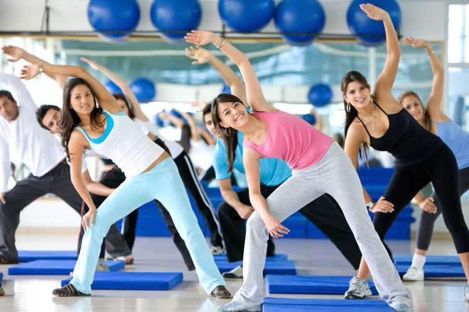 Aerobics workout pics