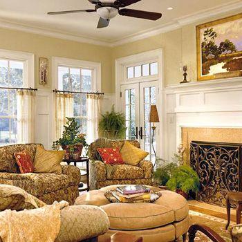 Calming Family Room