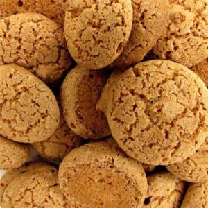 Date and Almond Cookies