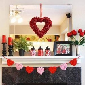 Décor Your home for Valentine's Day