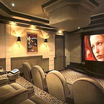 Home theaters are a good home accessory