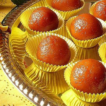Hot GulabJamuns in Winter