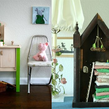 How to decorate with secondhand finds