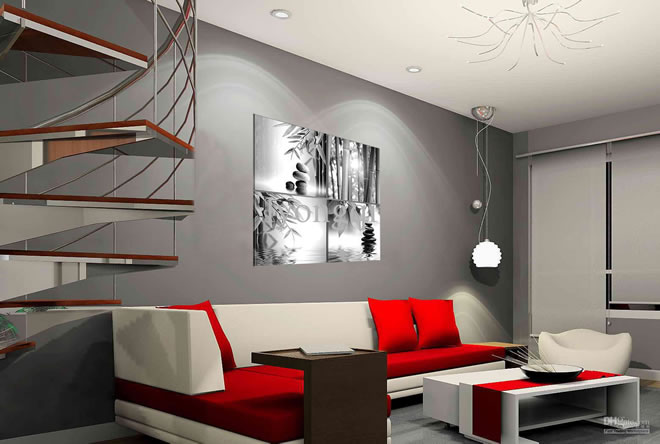 Cheap And Easy Modern Home Decor Ideas Inspiration Cheap Modern Living Room Ideas Painting