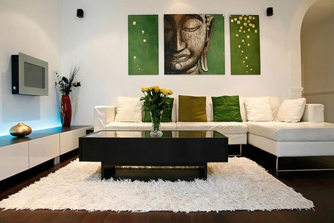 artwork in your living room